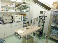最新設備の整った手術室